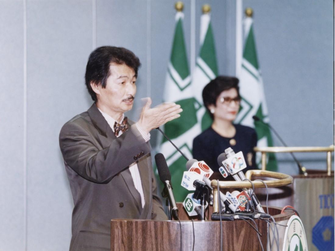 1995 捍衛台灣主權DPP記者會 4
