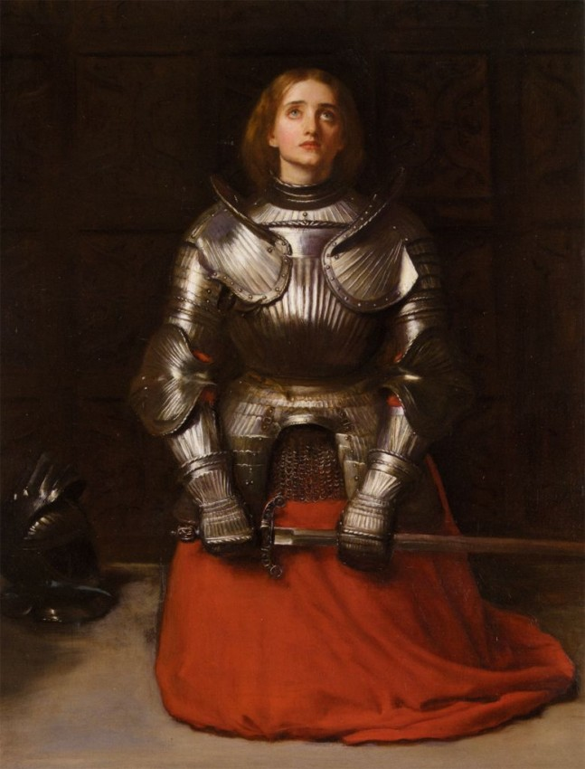 joan-of-arc john everett millais