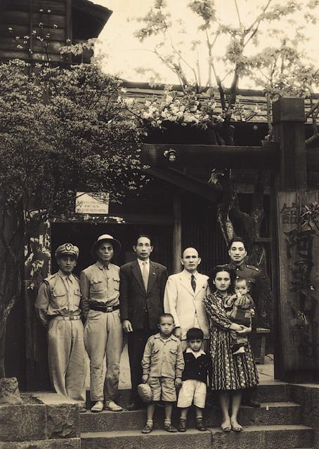 阿里山賓館前1951