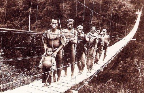 泰雅族攝於日本時代。