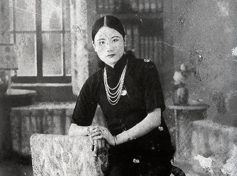 施明德的母親:施陳英 1915 - 1968