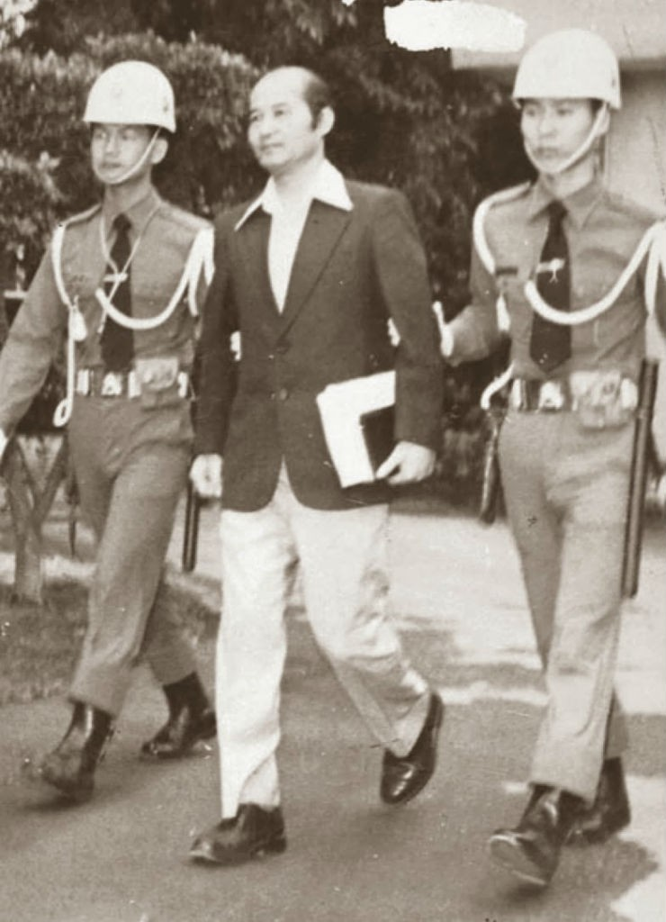 1980年,高俊明出庭。